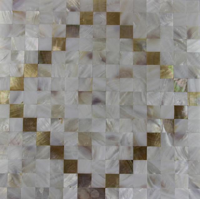 Mode Stil Süßwasser + Muschel Mosaik Fliesen Natürliche Farbe Küche  Badezimmer Schlafzimmer Wand Mosaiken