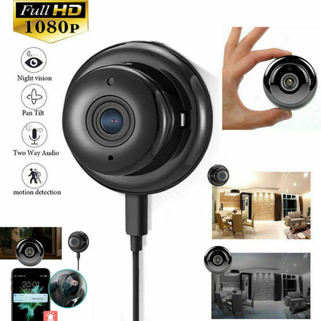 Wireless IP Camera HD 1080P Mini Wifi Camera Network P2P Baby Monitor 2MP CCTV Security Video Camera with IR-cut Two Way