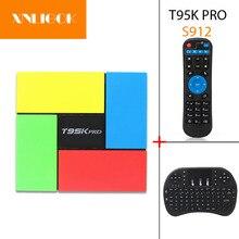 Amlogic S912 T95K PRO Smart TV box 2G 16G Android 7.1 Octa C