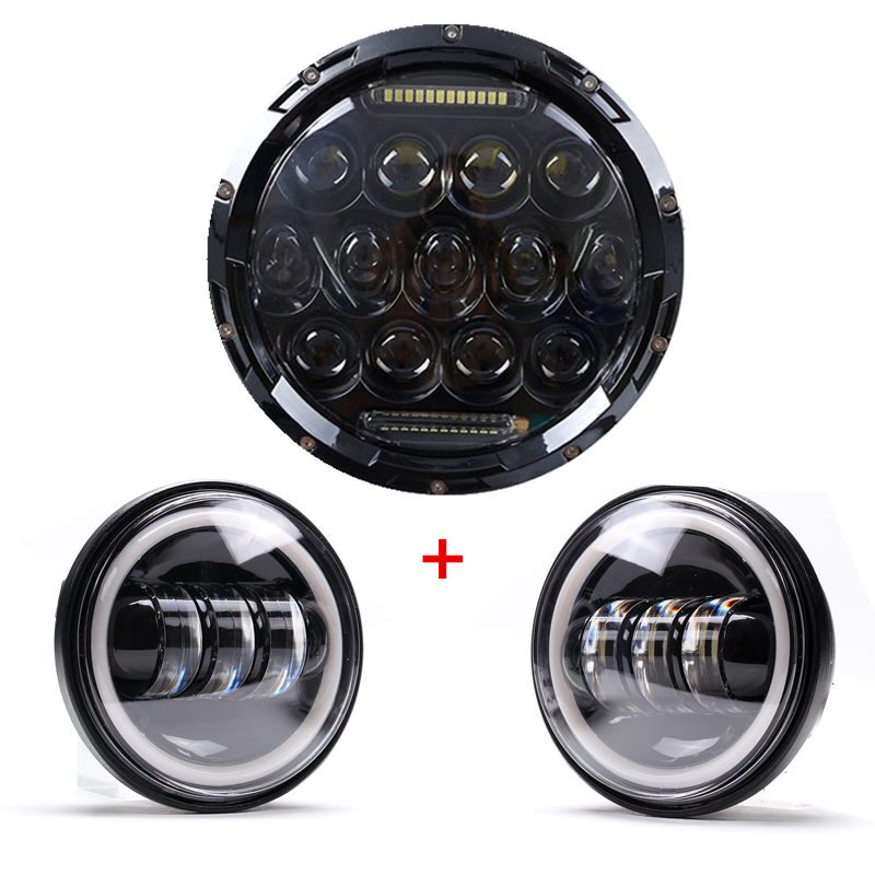 For Harley Daymaker Road King Motorcycle Headlight Set 7