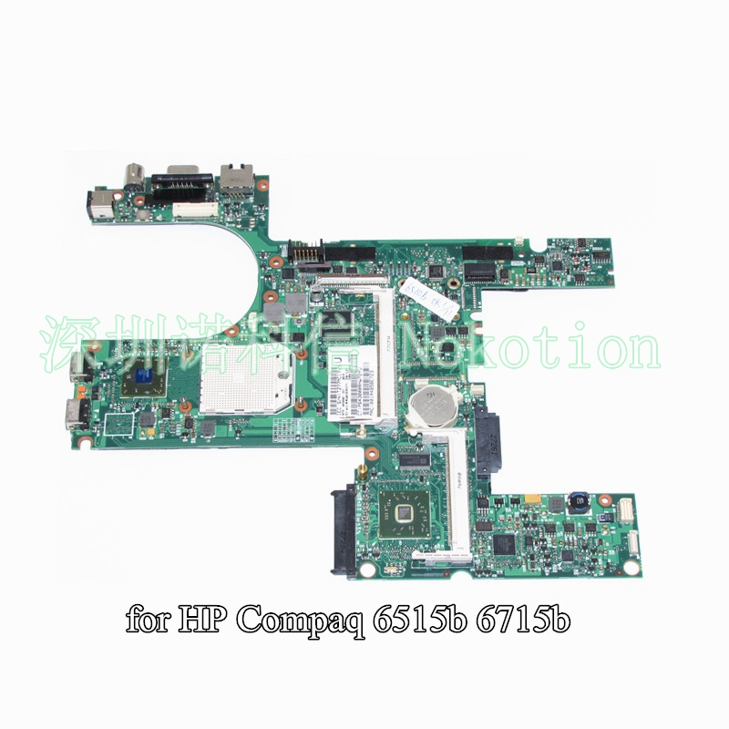 NOKOTION 443898-001 For HP Compaq 6515B 6715B laptop motherboard DDR2 744009 501 744009 001 for hp probook 640 g1 650 g1 motherboard socket 947 hm87 ddr3l tested working