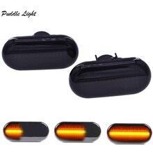 Dynamic LED Side Marker Light Indicator Turn Signal Light for VW Bora Golf3 Golf4 Lupo Passat 3B Passat 3BG Polo 6N Sharan Vento