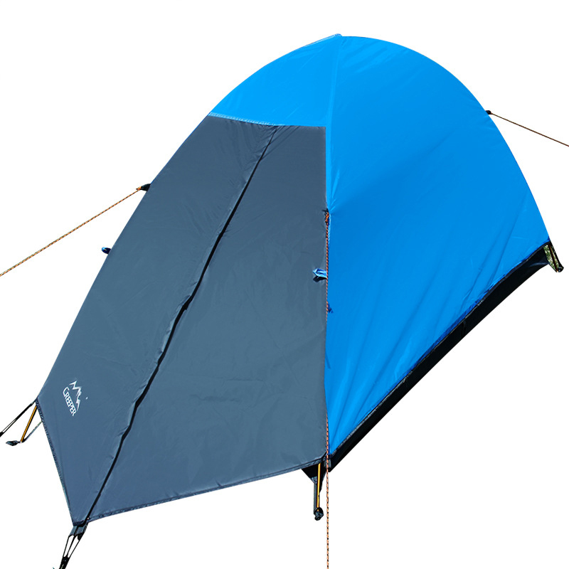 1 Person Tent 4 Season Ultralight Double Layers Aluminum Pole UV Protection Waterproof Beach Camping Hiking