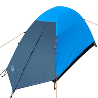 1 Person Tent 4 Season Ultralight Double Layers Aluminum Pole UV Protection Waterproof Beach Camping Hiking Outdoor Tent