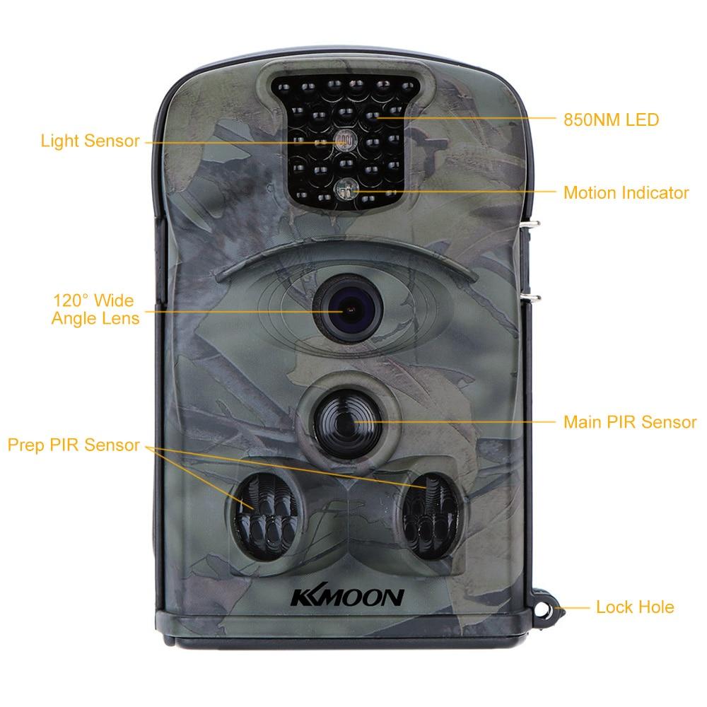KKMOON 12MP 720P HD 850nm IR IP54 Security Scouting Hunting font b Trail b font font