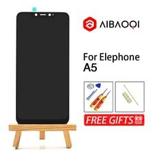AiBaoQi شاشة لمس أصلية جديدة 6.18 بوصة + شاشة عرض LCD 2246x1080 للاستبدال في تجميع هاتف Elephone A5 الذي يعمل بنظام الأندرويد 8.1