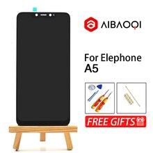 AiBaoQi pantalla táctil Original de 6,18 pulgadas, reemplazo de montaje para pantalla LCD de 2246x1080 para teléfono Elephone A5, Android 8,1