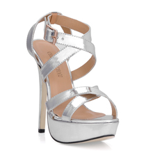 2016 New Sexy Party Shoes Women Stiletto High Heels Ladies Sandals Zapatos Mujer 3463SL-A3