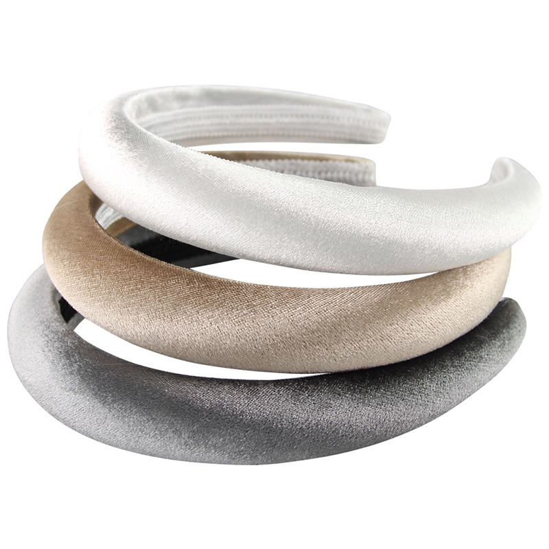 Thick Sponge Velvet Hairbands Headbands For Women Girls Head Bands Headwear Fashion Hair Bands Accessories Drop Shipping