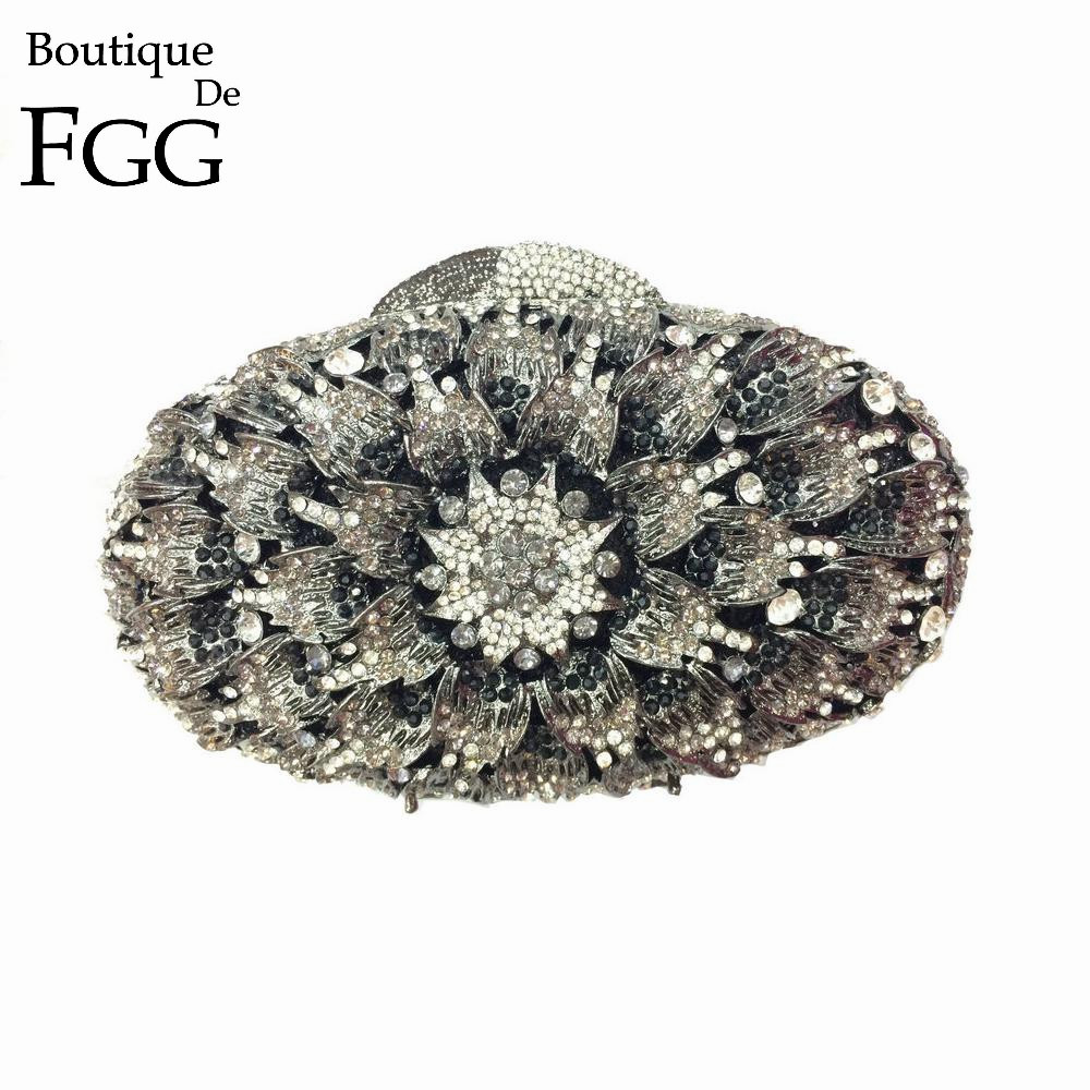 ФОТО 3 Colors Womans Small Casual Clutch Hand Bag Dinner Crystal Women Bag Red Rhinestone Evening Purse Wedding Clutches Minaudiere
