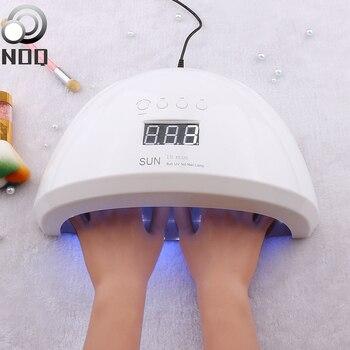 NOQ UF Lamp SUN 1S Plus Put Both Hands LED Lamp For Nails Max84W 42 Leds UV Led Lamp Nail Dryer For Manicure Machine Gel Polish