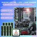 ใหม่!!! Runingซูเปอร์ATX X79 LGA2011เมนบอร์ด8 DDR3ช่องDIMM max 8*16กรัมหน่วยความจำXeon E5 2620 SROKW CPU 64กรัม(8*8กรัม) 1600 DDR3 RECC