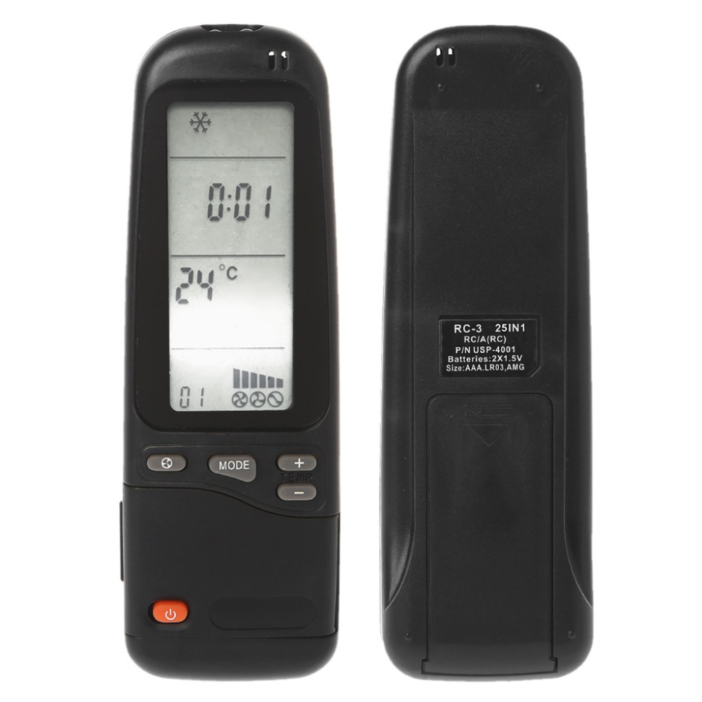 Air Conditioner Remote Control For Electra / Emailair / Elco Rc-41-1 Rc3 23in1