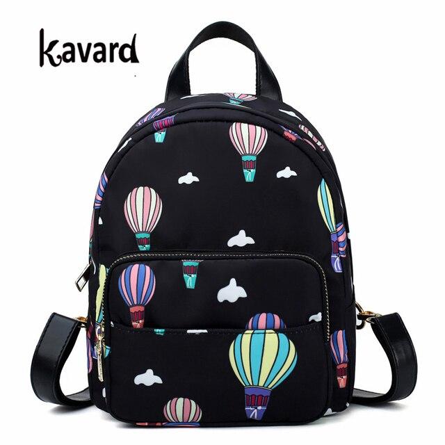 US $20 8 |2018 New Women Balloon printing Shoulder Bag Leisure Best Travel  Backpack College Printing Female Waterproof School Rucksack SAC-in