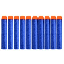 100PCS For Nerf Bullets Soft Hollow Hole Head 7.2cm Refill Darts Toy Gun Bullets for Nerf Series Blasters Xmas Kid Children Gift