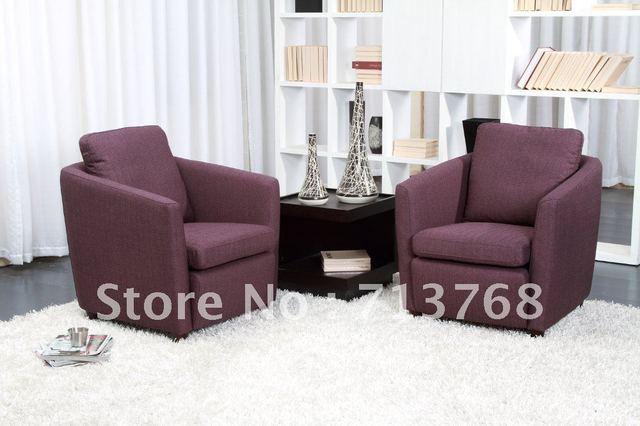 Muebles modernos sala/salón/tela/sofá silla/un asiento MCNO519 en ...