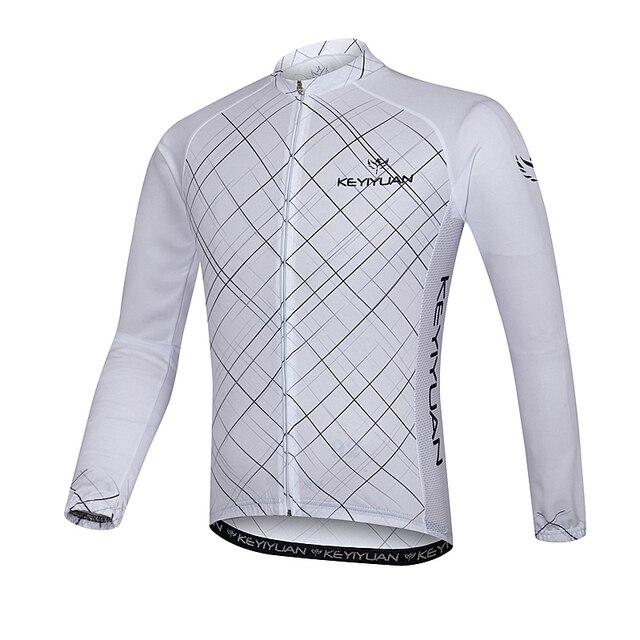 KEYIYUAN Cycling Summer Long Sleeve Men s Bicycle Shirt Mountain Bike  Breathable Outdoor Sweatshirt Sun Protection a3f3f6b51