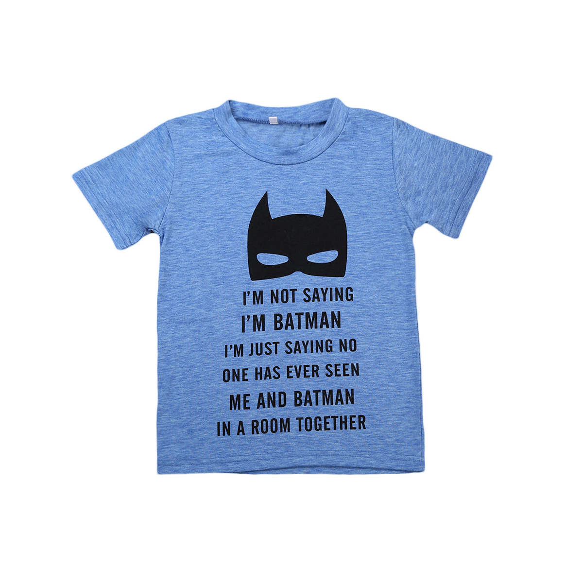 Super Hero Cute Baby Boy Graphic Tees Blue Toddlers Boy T Shirt Summer Clothes Kids In T Shirts