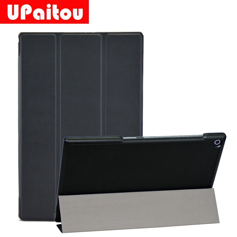 UPaitou Flip Leather Case for Sony Xperia Z4 (10.1) Z2 (10.1) Z3 (8) Tablet Case Stand Cover Smart Coque Auto Sleep/Wake UP luxury cover for sony xperia z4 tablet ultra case 10 1inch flip pu leather stand sgp771