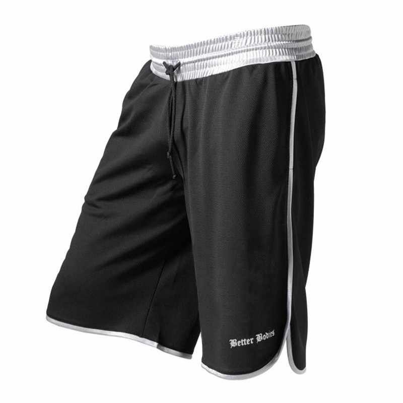 721a6b56053a ... Mens Gym Fitness Shorts Run Jogging Sports Loose Cool Mesh Quick Dry  Bodybuilding Crossfit Sportswear Male ...