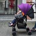 De alta Calidad de Peso Súper Ligero Cochecito de Bebé Puede Sentarse Mentira Coche de bebé de Alta Paisaje Portátil Plegable Cochecitos para Recién Nacidos de 5 kg C01