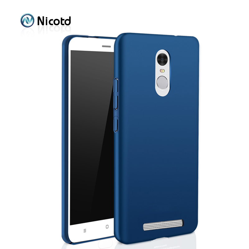 Luxury hard Plastic Matte Case for Xiaomi Redmi 4X 4 PRO 3S Note 4X Note 3 4 Full Cover PC Cell Phone Case For redmi 5 plus 6A 6(China)