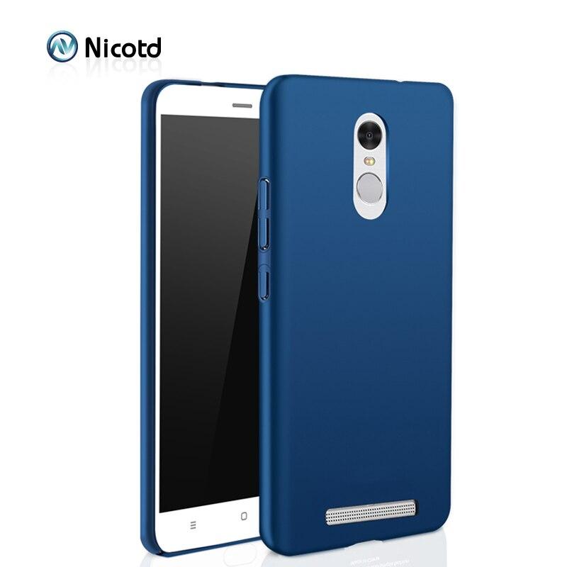 Luxury hard Plastic Matte Case for Xiaomi Redmi 4X 4 PRO 3S Note 4X Note 3 4 Full Cover PC Cell Phone Case For redmi 5 plus 6A 6