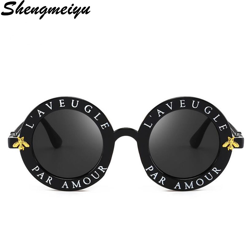 Newest Fashion Round Sunglasses Women Brand Designer Vintage Gradient Shades Sun Glasses UV400 Oculos Feminino Lentes