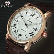 FORSINING Luxury Men Automatic Watch Retro Mechanical Man Wr