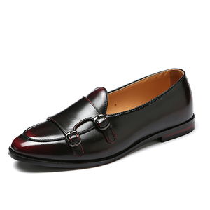 Image 3 - Men Loafers Leather Shoes For Man Business Dress Shoes Oxfords Shoes Fashion Mens Flats Big Size 38 47