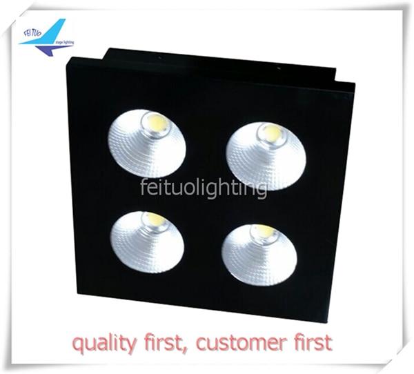 COB 4 LED PAR Blinder light 4x100w 400W warm white LED MATRIX LED Strobe