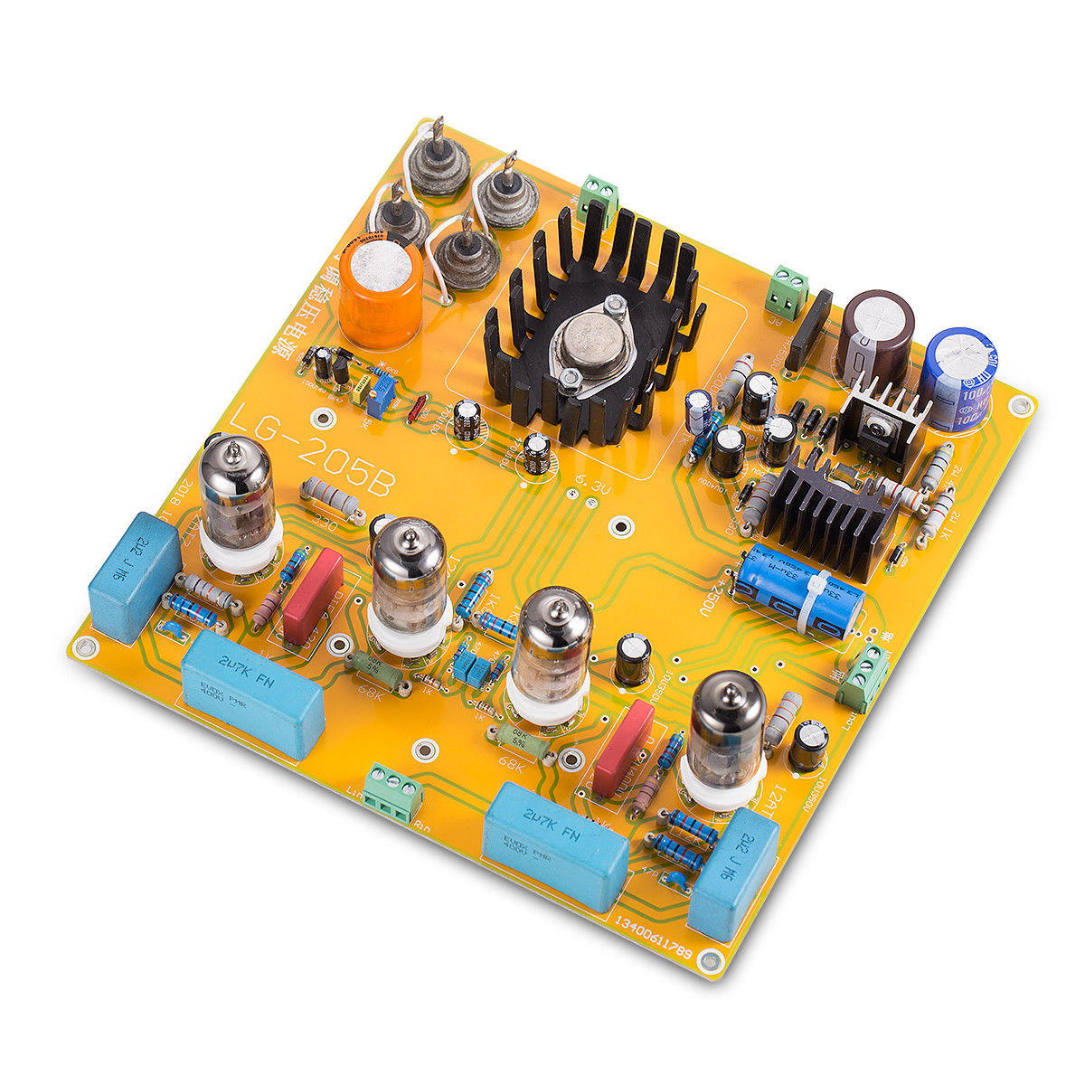 HiFi Stereo 6N1+6N2 Vacuum Tube Pre-amplifier Board Preamp Inspired by Matisse