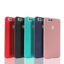 Suave TPU Color caramelo funda del teléfono para Huawei Honor 8 8C 8X 7A 7C Pro 6c 6A 6X 5X Honor 9 10 lite Y9 2019 Y5 Y6 Y7 Primer Caso 2018