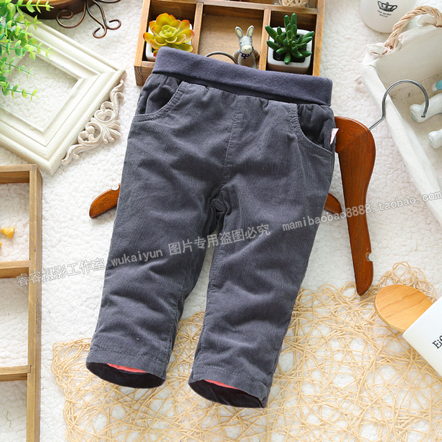 Free shipping new 2013 autumn winter pants baby clothing unisex children casual pants newborn skinny pants double boys pants