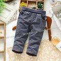 Frete grátis novo 2013 outono calças do bebê roupas de inverno crianças unissex calças recém-nascidas calças skinny casuais dupla calças meninos