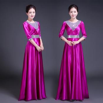 Vestido largo mujer boda
