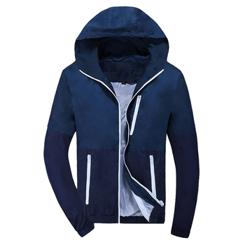 0269d8f08 Jacket Thin Hoodie Mens Windbreaker Fashion Men Women Spring Autumn Jacket  Coats Couple Clothes Hombre 2018