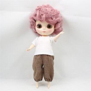Image 3 - מפעל Blyth שמנמונת 90BL1063 ורוד מתולתל שיער חמוד גברת Plumpy 1/6 שומן ילדה צעצוע מתנה