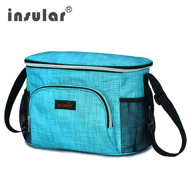 2017 New Style Insular Waterproof Baby Diaper Bag Messenger Mommy Bag Thermal Insulation Stroller Bags Shipping Free