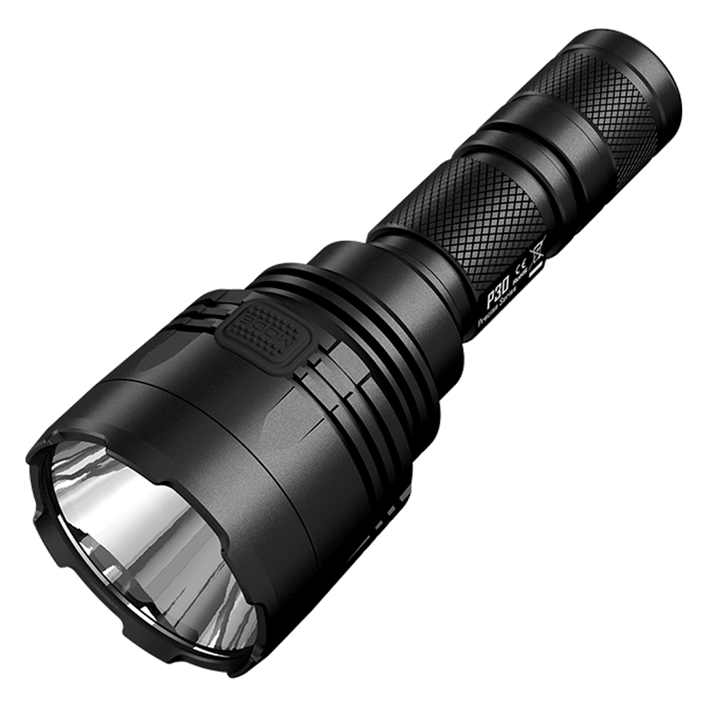 Free Shipping NITECORE P30 1000Lumen Tactical Flashlight Waterproof Without 18650 Battery Outdoor Camping Hunting Portable Torch