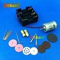 FitSain -- 12 V ~ 24 V 10000 ~ 20500 RPM mini máquina furadeira elétrica mão ferramentas de imprensa de broca pcb Mini serra de corte lâmina de serra