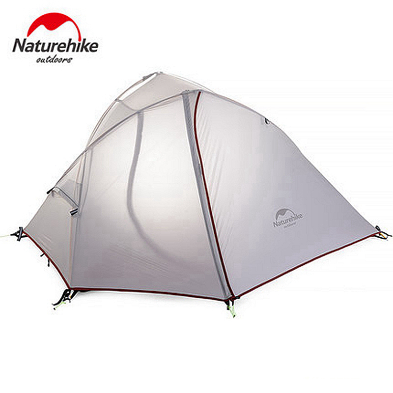 цены на STAR HOME 1-2 Person Double Layers Tent NH Outdoor One Bedroom Camping Tent With Mat 2 Colors 3 Seasons в интернет-магазинах
