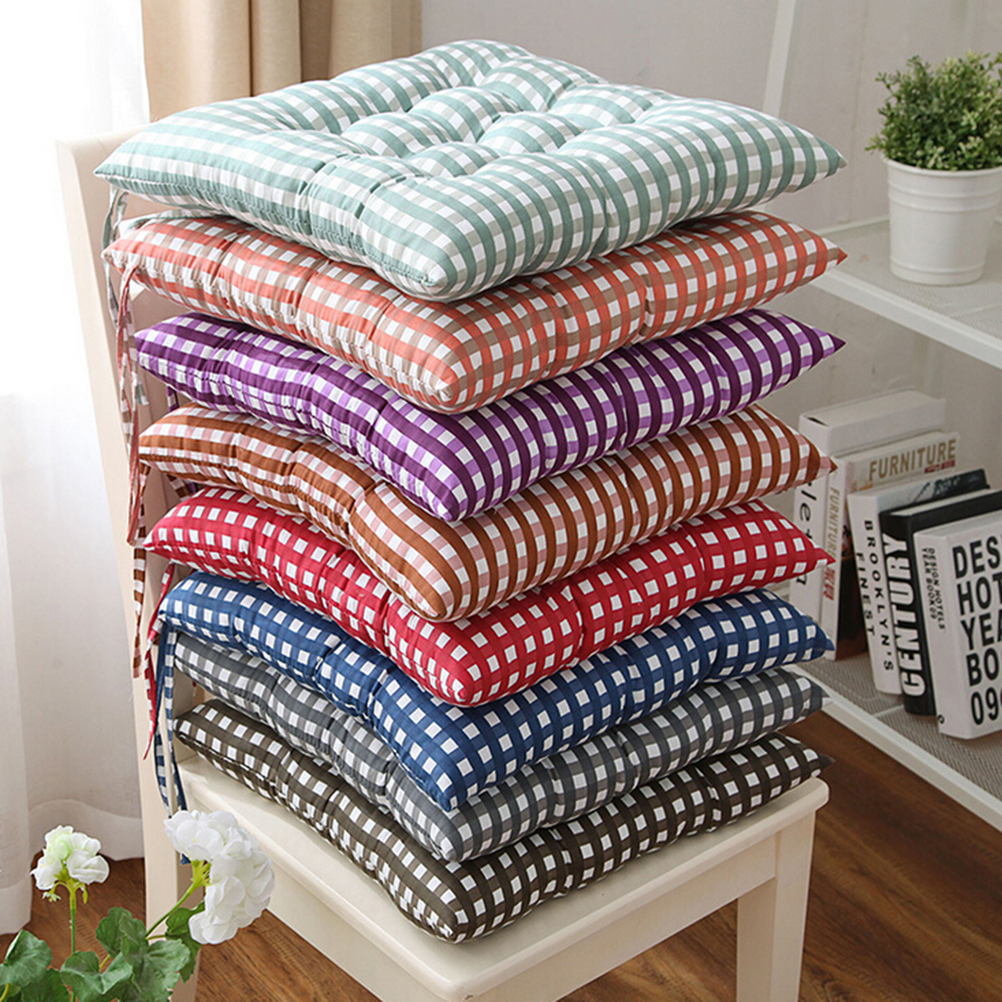 1PC 8 Colors Square Buttocks Seat Chair Cushion Pads