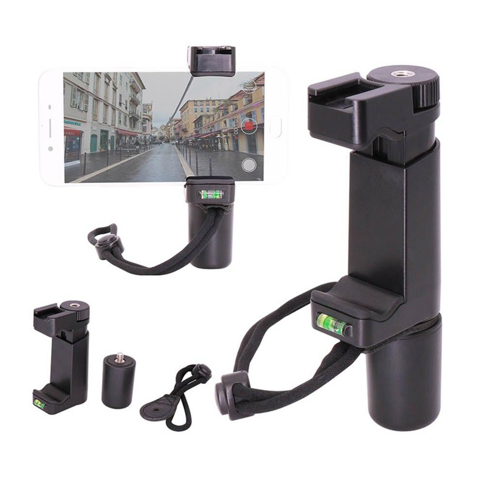 Nuevo estabilizador de mano para teléfono móvil soporte de Video adaptador de montaje de trípode ajustable para Videomaker GDeals