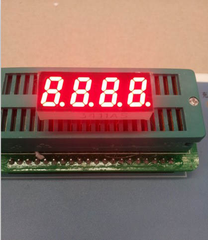 Common Anode/ Common Cathode 0.31 Inch Digital Tube 4 Bits Digital Tube Led Display 0.31inches Red Digital Tube