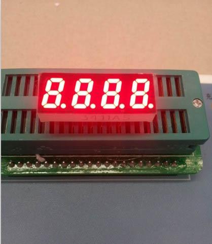 Common anode/ Common cathode 0.31 inch digital tube 4 bits digital tube led display 0.31inches Red digital tube