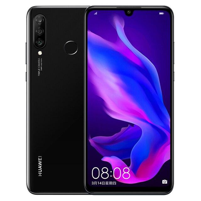HUAWEI P30 Lite Nova 4e Smartphone Kirin 710 Octa Core Android 9.0 FingerPrint ID 3340 mAh 6.15 inch 4*Cameras Cell Phone 1
