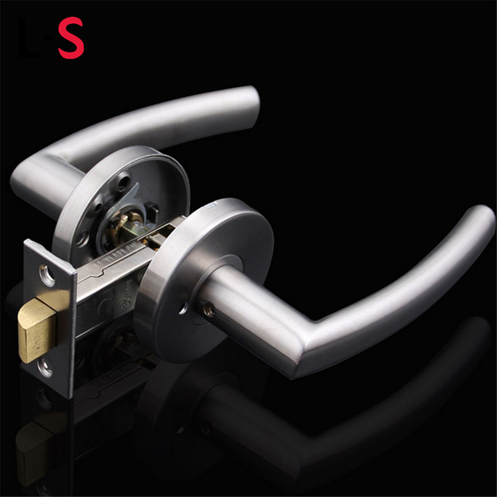 Buy l s stainless steel passage keyless door lock knobs for 007 door locks