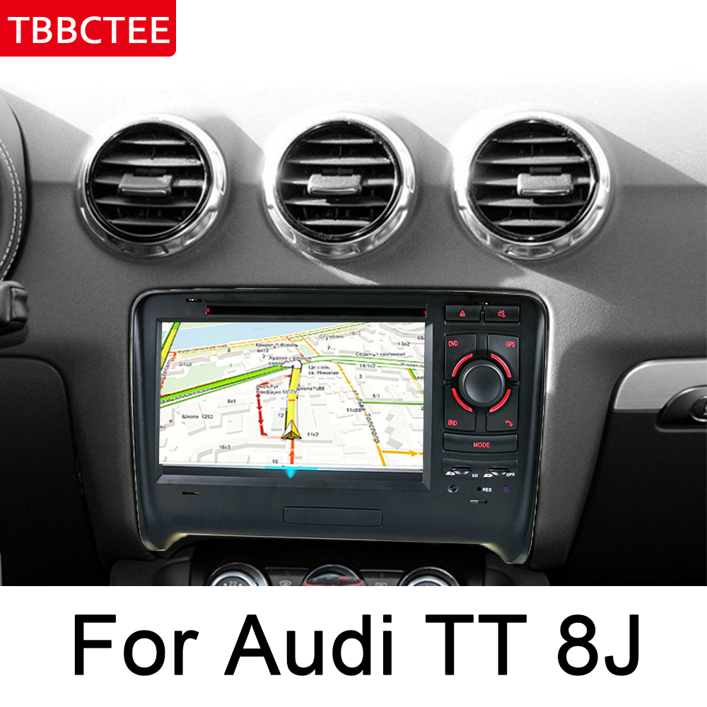 מערכת ניווט GPS עבור אאודי TT 8J 2006 ~ 2014 MMI IPS Android רכב DVD ניווט GPS מולטימדיה נגן סטריאו רדיו WiFi מערכת Navi ראש היחידה HD (3)