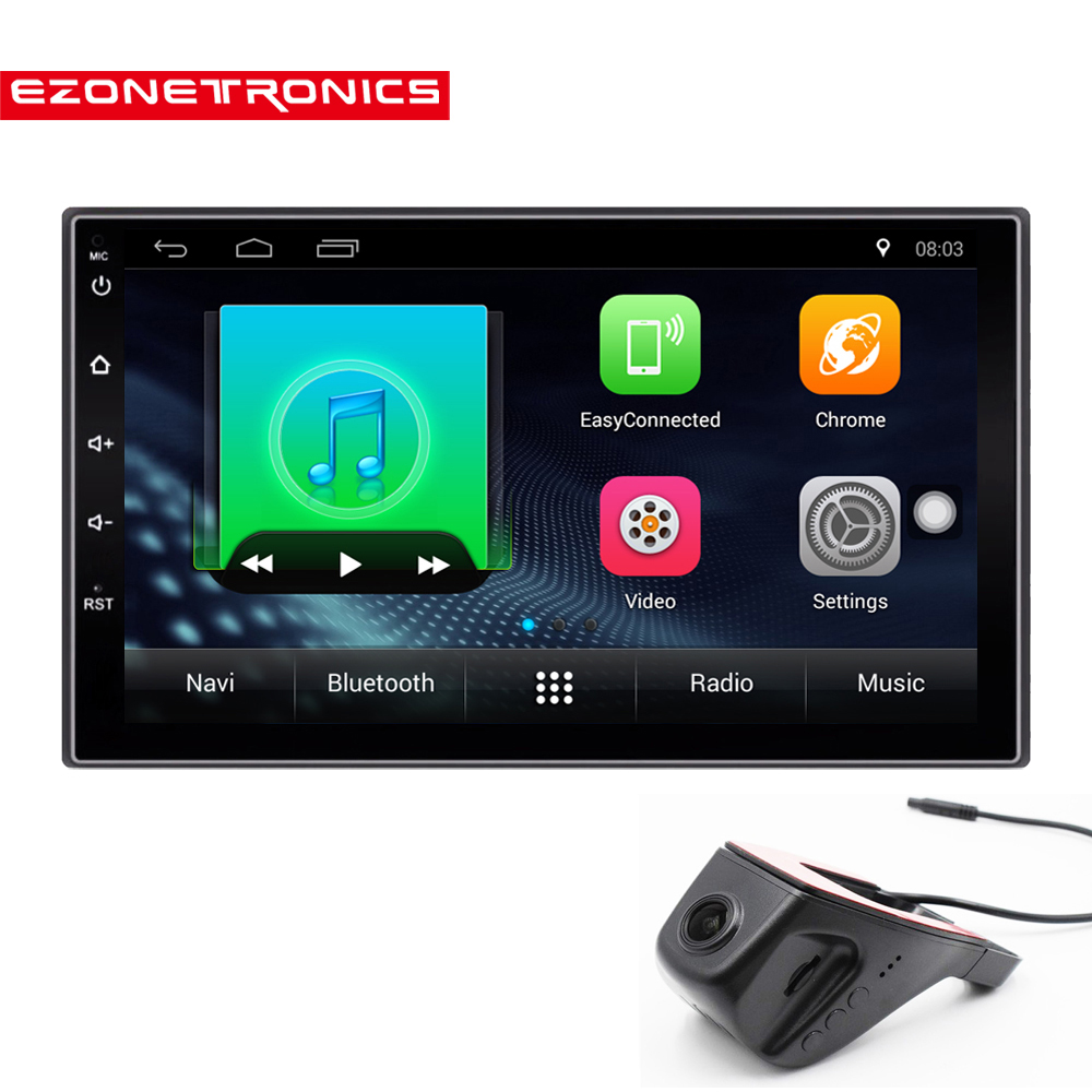 2 Din Android 7.1 Car Radio Stereo 71024*600 Universal Car Player GPS Navigation Wifi Bluetooth USB Radio Audio Player(No DVD) car dvd gps android 8 1 player 2din radio universal wifi gps navigation audio for skoda octavia fabia rapid yeti superb vw seat